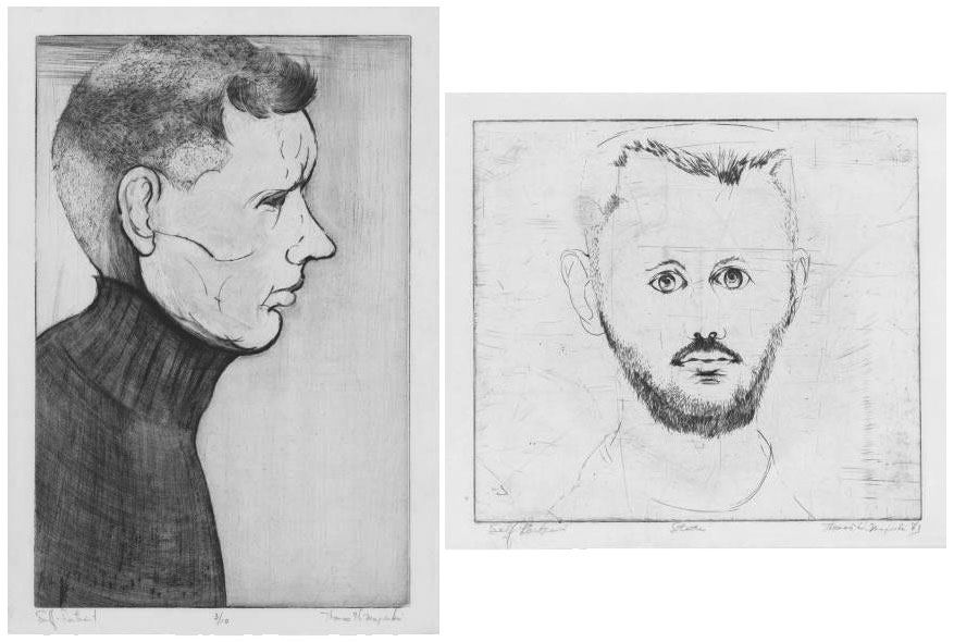 Thomas Majeski Self Portraits